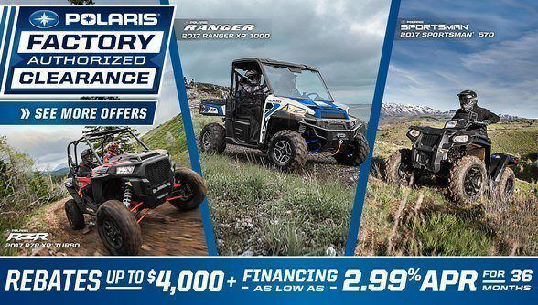 Polaris Factory Authorized Clearance